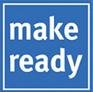 make ready | Gebäudereinigung | Housekeeping | Stewarding |  Roomkeeping  |  Hoteldienste Logo
